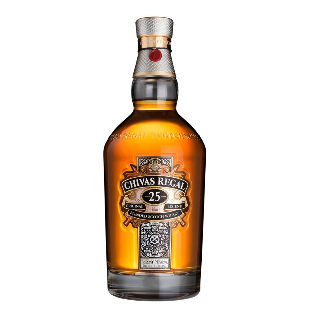CHIVAS 25YO WHISKY 750ML