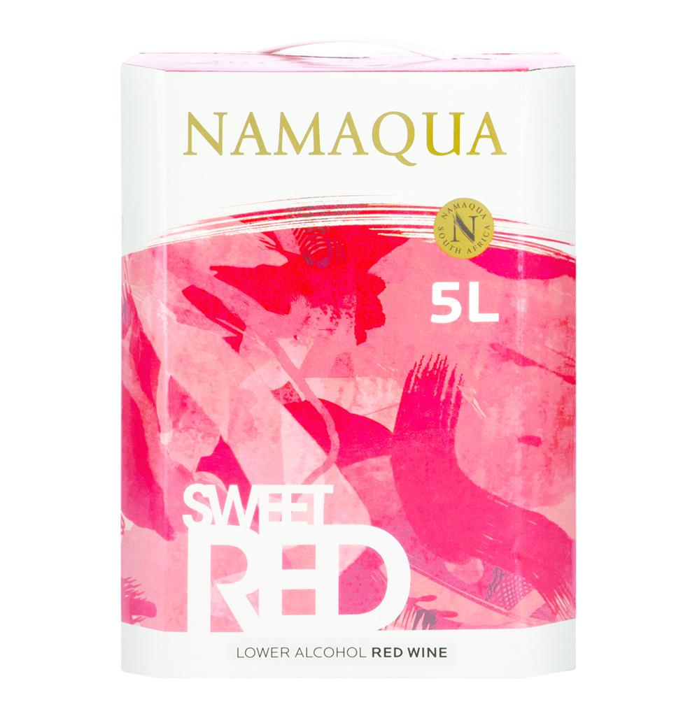 NAMAQUA NATURAL SWEET RED 5LT