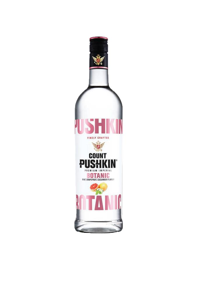 COUNT PUSHKIN BOTANIC VODKA 750ML