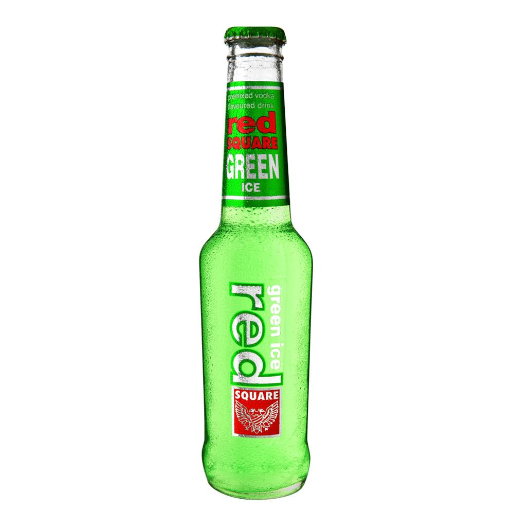RED SQUARE ICE GREEN 275ML