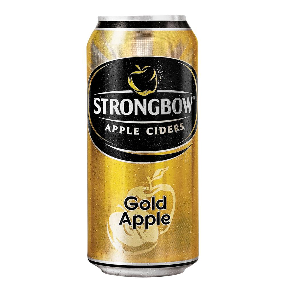 STRONGBOW CIDER GOLD 440ML CAN