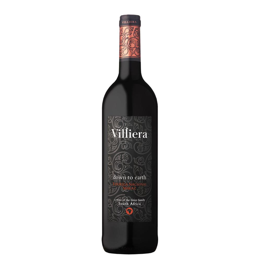 VILLIERA DOWN TO EARTH RED 750ML-DL