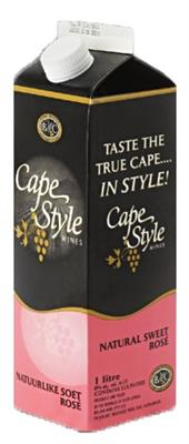 CAPE STYLE NAT SWEET ROSE 1LT