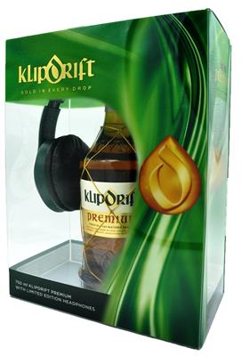 KLIPDRIFT PREMIUM BRANDY 750ML WITH HEADPHONES