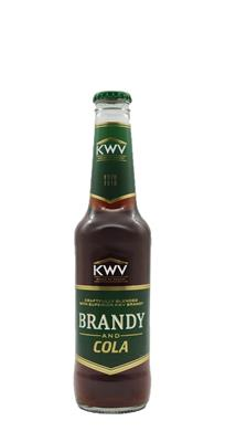 KWV BRANDY & COLA NRB 275ML