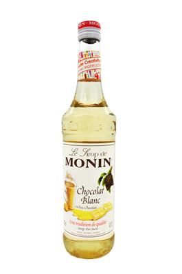 MONIN WHITE CHOCOLATE 700ML