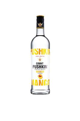 COUNT PUSHKIN MANGO VODKA 750ML