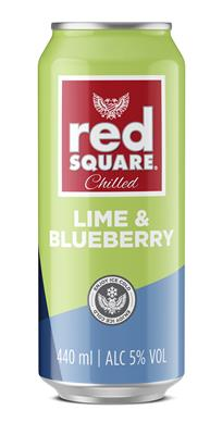 RED SQUARE LIME & BLUEBERRY 440ML CAN