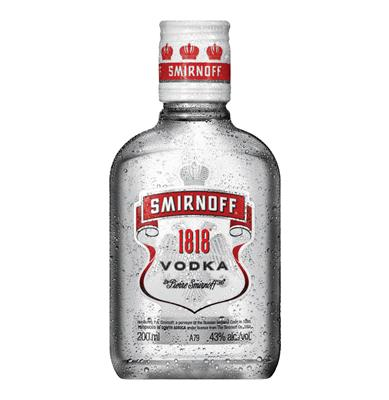 SMIRNOFF 1818 VODKA 200ML