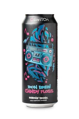 SWITCH IRON BREW CANDY FLOSS 500ML