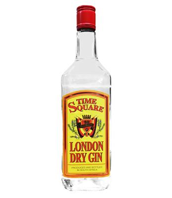 TIME SQUARE LONDON DRY GIN 750ML