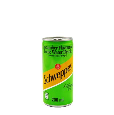SCHWEPPES TONIC WATER CUCUMBER FLAVOUR 200ML