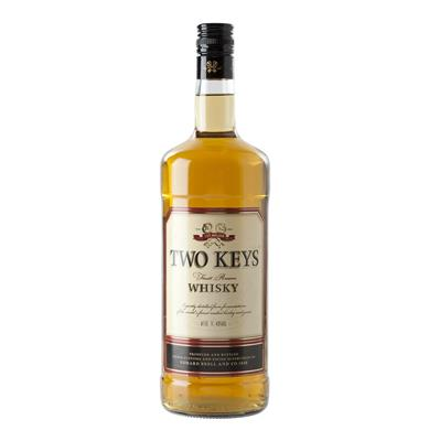 TWO KEYS WHISKY 750ML