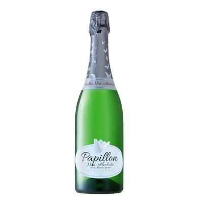 VAN LOVEREN PAPILLON NON-ALC WHITE SPARKLING WINE 750ML